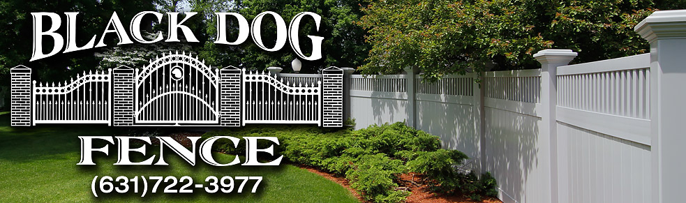 Black Dog Fence of Flanders New York